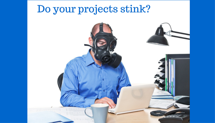 Do your projects stink? Survey says…